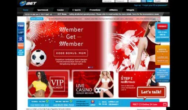 9BET Bandar Taruhan Online