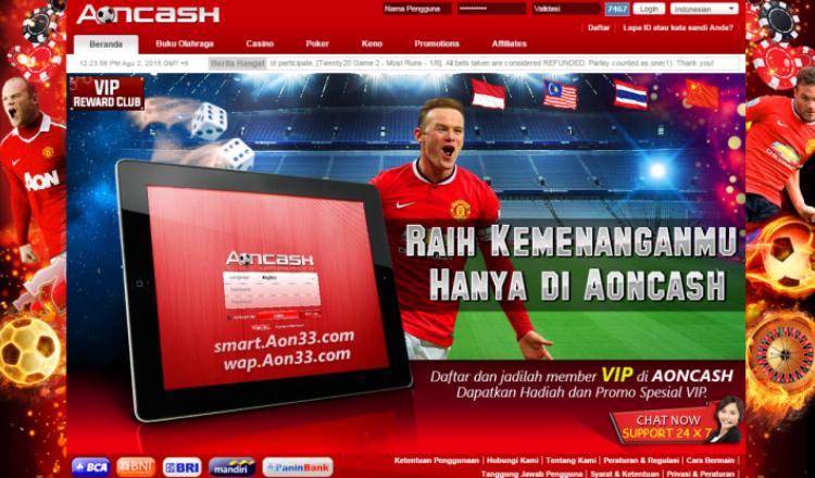 Aoncash - Situs Judi Online Terpercaya