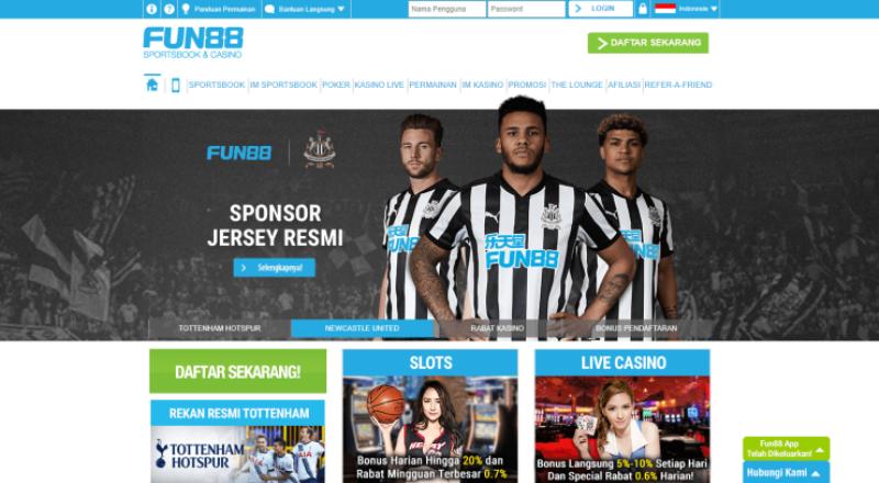Fun88 - Situs Judi Online