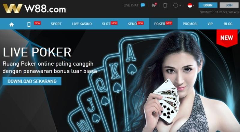W88 Judi Bola & Casino Online