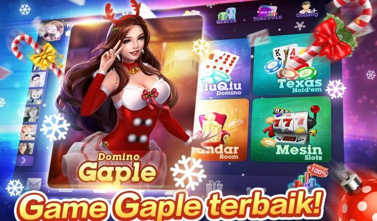 Bermain Game Gaple Domino Online
