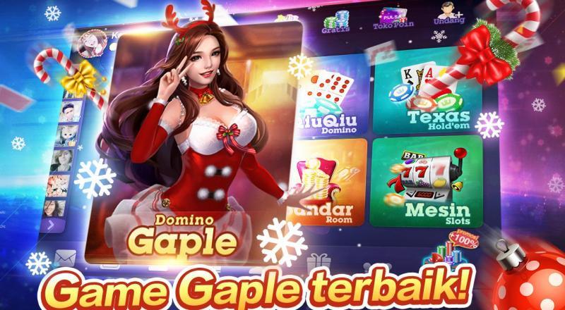 Bermain Game Gaple Domino Online