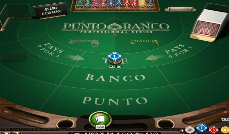 Cara Bermain Punto Banco Baccarat & Win
